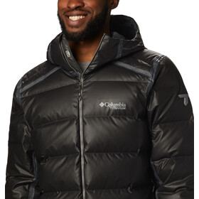 Columbia OutDry Ex Alta Peak Donsjas Heren, black heather
